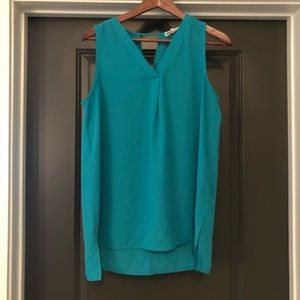 Pleione Teal Womens Shirt Size S